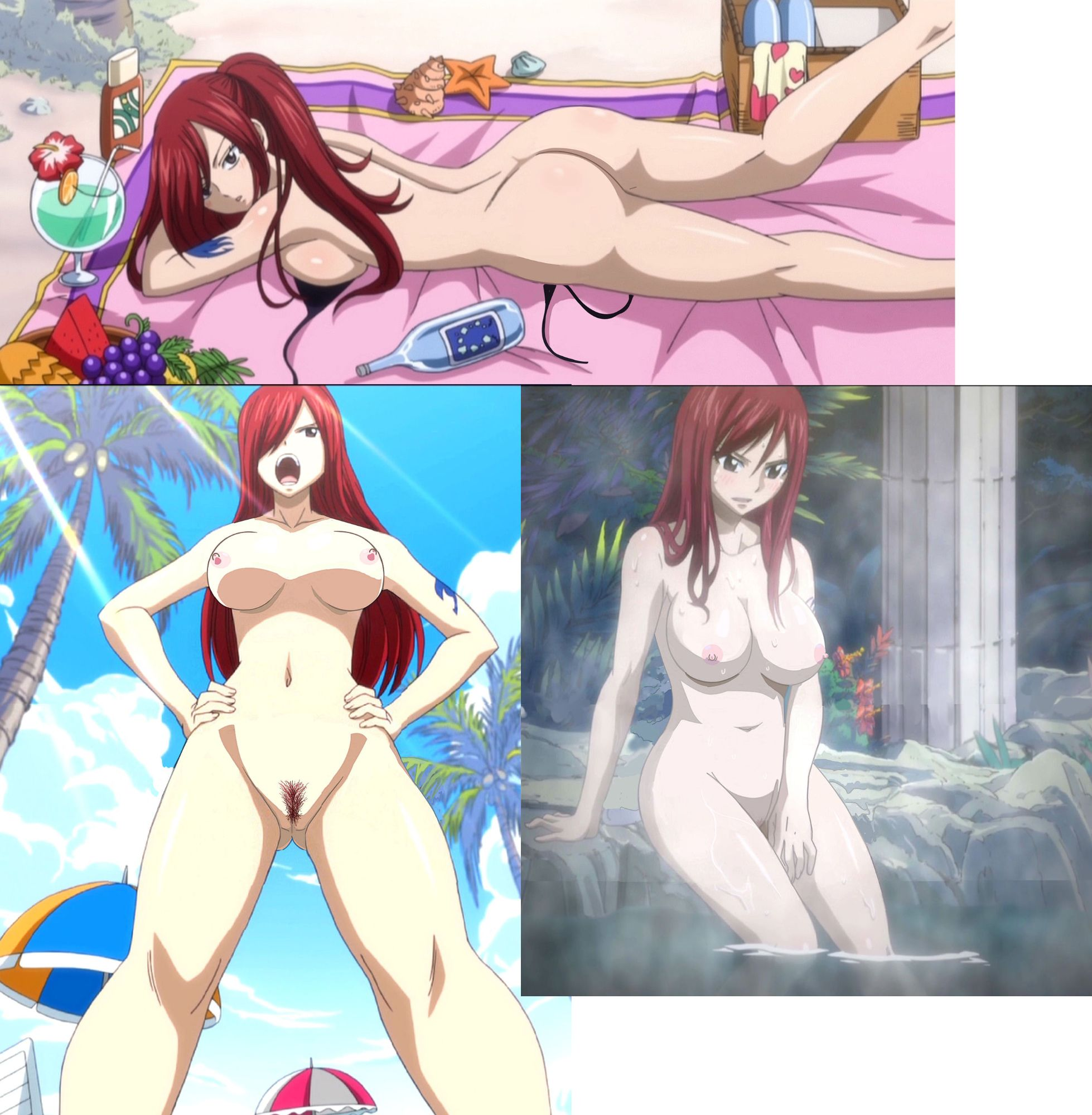 Hot sexy fairy tail nude porn hentai  smut films
